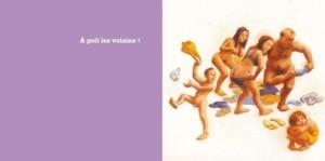 """Extrait du livre """"Tous à Poil !"""", de Claire Franek et Marc Daniau, Editions du Rouergue, 2011 (Crédit : Capture d'écran Amazon)"""